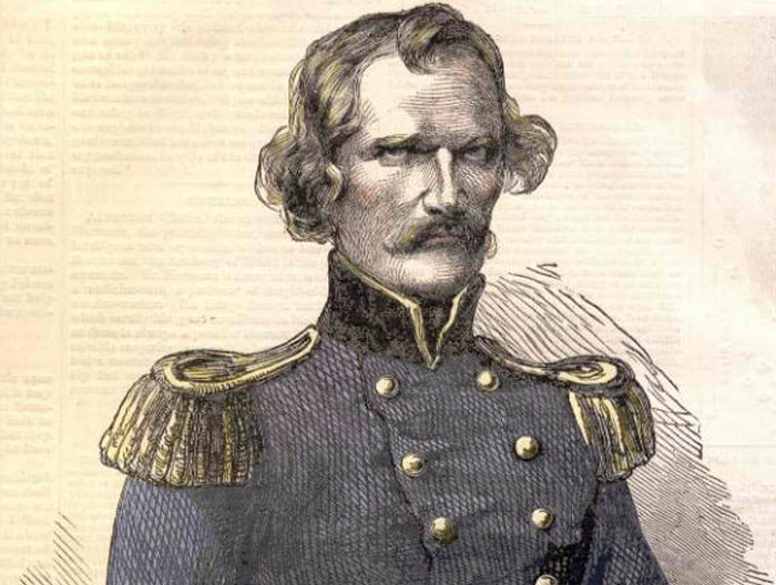 General Albert Sidney Johnston (image source: Leslie's Illustrated Magazine)